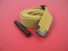 WWII US GI M1 Carbine C-Tip Khaki Canvas Sling w/Oiler Dated 1942 - Reproduction