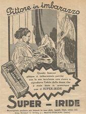 W1116 SUPER-IRIDE - Pittore in imbarazzo - Pubblicità 1926 - Vintage Advert