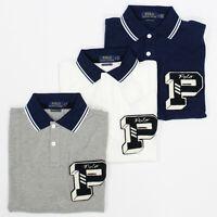 Polo Ralph Lauren Men's Custom Slim Fit P-Wing Mesh Cotton Polo Shirt