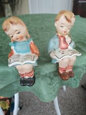"Rare D.B. Product ""Our Precious Children"" Salt and Pepper Shakers"