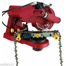NEW 4200RPM Electric Chain Saw Sharpener Grinder. Bench Wall Vise Mount Chainsaw