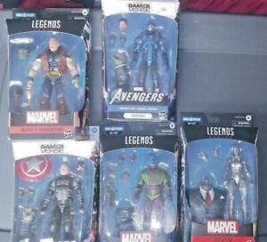 Marvel legends Joe Fixit Lot of 5 figures 6 inch Kang Iron Man Captain America