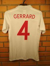 Gerrard England soccer jersey small 2009 2010 home shirt football Umbro