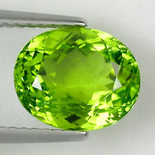 3.88 ct@  TOP LUSTROUS _BEST GREEN RARE BURM ESE 100% NATURAL PERIDOT Gemstone
