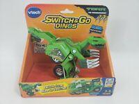 Torr The Therizinosaurus Switch & Go Dinos Vtech Green Dinosaur Brand New
