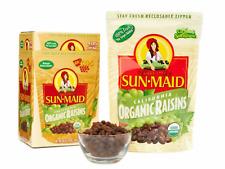 2 BAGS- 2LBS Organic Sun Dried California Raisins (1 Resealable Bag) by Sun Maid