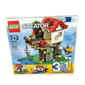 LEGO Creator Treehouse 31010 Retired 356 Pieces New Sealed Free Shipping