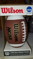Nib New Wilson Ncaa Reaction Football 14 & Up Composite Material Official Size