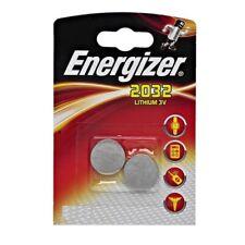 Blister de 2  piles ENERGIZER CR2032 3 volt  LITHIUM