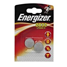 Energizer Pile Bouton Lithium CR2032 3v - 2 Piles