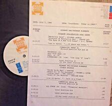 RADIO SHOW: 7/7/88 TODAY '68! STATUS QUO, DONOVAN, MERILEE RUSH, HUGH MASAKELA