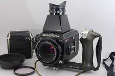 【Rare!】 Zenza Bronica EC-TL II w/NIKKOR-P.C 75mm f/2.8, Many Accessories! #2489