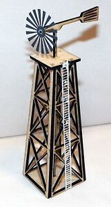 HO Scale Old West Windmill  Kit