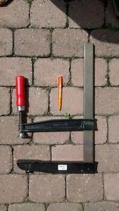 Bessey Tiefspannschraubzwinge Schraubzwinge TGN40T25,  250 x 400 mm, 16 x 10 Inc