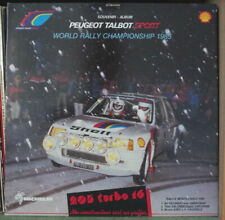 RICHARD LORD RALLYE MONTE-CARLO 205 TURBO 16 COVER MAXI FRENCH LP MICHELIN 1985