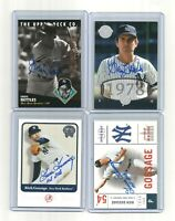 2-card GRAIG NETTLES signed AUTO lot 1994 ud 125TH gold & 2004 TIMELESS teams ny