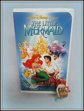 GROLIER DISNEY LITTLE MERMAID  ORNAMENT 1993  BLACK DIAMOND  MERMAID VHS TAPE