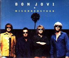 BON JOVI - MISUNDERSTOOD - CD SINGLE 2 TRACKS PROMO 2002 SLIM BOX EXCELLENT COND