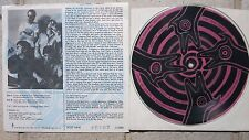 """4 Coyotes – Float In The Eye 7"""" Picture Disc SCAT NINE # 0407/2000 Vision of Wo"""