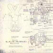 DRAWINGS Disegni Complessivo Rolls Royce Merlin Mk70 1944 - DVD