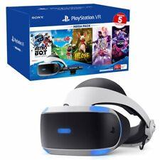 @=NEW!=@ Sony PSVR PlayStation VR MEGA PACK V2 + PS4 Camera PS5 Adaptor +5 GAMES