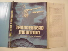 Thunderhead Mountain, Margaret Ann Hubbard, Dust Jacket Only