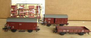 Märklin 48791 Wagenset Stückgutwagen 2 teiliges set DB Epoche 3 + 1 Bonuswagen