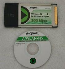 AQUIP A/WLAN-N5 WLAN 300 PCMCIA Adapter