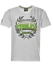 T-Shirt Col V Homme EVERLAST (Du S au XL) (Taille Grand) Neuf