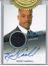 NCIS - 2 Case Topper Card - Rocky Carroll as Leon Vance - Autograph and Costume