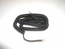 PHILMORE 44-492 5FT 3 CONDUCTOR SHIELDED SMALL COILED MICROPHONE MIKE CABLE