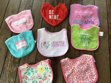 Baby Girl Bibs  Calvin Klein Bibs Aunt Bib Mix Lot