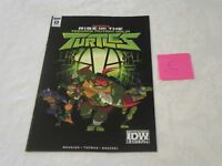 IDW SDCC 2018 Exclusive Issue #0 TMNT Rise of the Teenage Mutant Ninja Turtles C