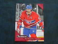 2017-18 17/18 Parkhurst RED #122 Max Pacioretty Montreal Canadiens