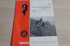 144236) Rabewerk Drehpflug - Goldammer C 3 F - Prospekt 12/1962