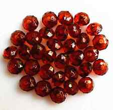 100Pcs 6mm Rondelle Bicone Acrylic Spacer Loose Beads Charms DIY Jewelry Finding