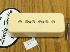NEW Lindy Fralin P-90 10% Underwound Soapbar Neck PICKUP Cream Vintage Guitar