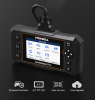 FOXWELL NT644 Auto OBD2 Diagnostic Scanner Tool ABS SRS Car Full System Scanner
