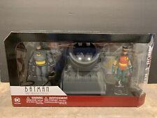 BATMAN THE ANIMATED SERIES BATMAN & ROBIN WITH BAT-SIGNAL