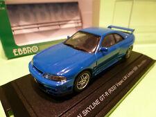 EBBRO 584 NISSAN SKYLINE GT-R (R33) Vspec LM LIMITED 1996 - BLUE 1:43 - NMIB