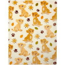 Disney Lion King Plush Printed Baby Blanket - Simba