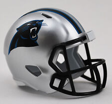 CAROLINA PANTHERS NFL Riddell Speed MICRO / POCKET-SIZE / MINI Football Helmet
