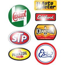 Set stp autocollant sticker gasoline pennzoil champion Oldtimer youngtimer rétro