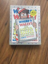 Where's Wally?: The Mega Mini Collection Martin Handford, Free Magnifying Glass