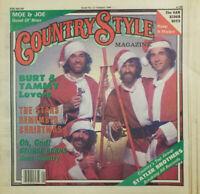 Country Style Magazine Jan 1980 Statler Brothers Christmas Santa Oak Ridge Boys