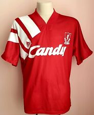 Liverpool 1991 - 1992 Home football Adidas shirt size XL