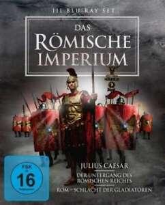 Julius Caesar / Rom - Schlacht der Gladiatoren / Der Untergan [Blu-ray/NEU/OVP]