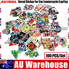100PCS/Set JDM Cartoon Waterproof Bomb Decal Sticker for Car/motorcycle AU Stock