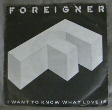 ♫ 45 T - FOREIGNER - I WANT TO KNOW WHAT LOVE IS / STREET THUNDER ♫