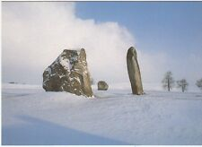 Postcard - THE COVE IN WINTER, AVEBURY      (Ref C18)
